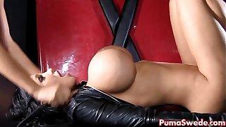European Dom Puma Swede Disciplines Slut Amy!
