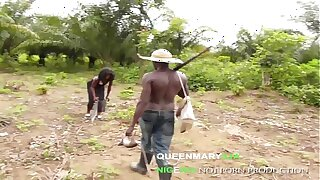 QUEENMARY9JA- African hunter fucked the King's daughter for a bush meat
