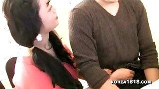Big Juggs on a Korean woman
