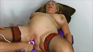 Toys, squirting, fisting, fucking, creampie