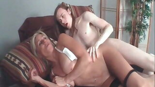 My MILF Exposed - Mature wife in stockings has sex