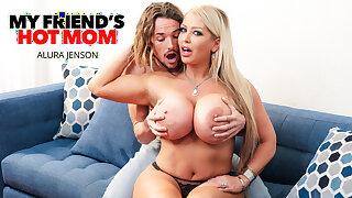 Naughty America - Busty Milf Alura Jenson fucks young cock