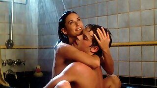 Demi Moore, nude topless, bit of nude butt and lot of hot sex