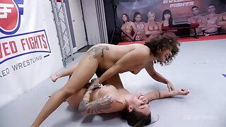 Daisy Ducati Fighting Tori Avano And Loser Gets The Strapon