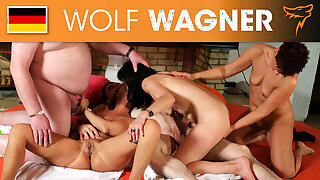 Hot swinger party with grannies and grandpas! Wolfwagner.com