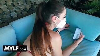 Taboo Coronavirus Quarantine - Stepmom & Stepson