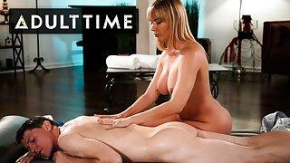 Dana DeArmond Works On Her Nuru Massage Technique